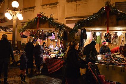 european christmas market at union depot