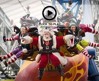 Holiday shopping and entertainment at Mall of America