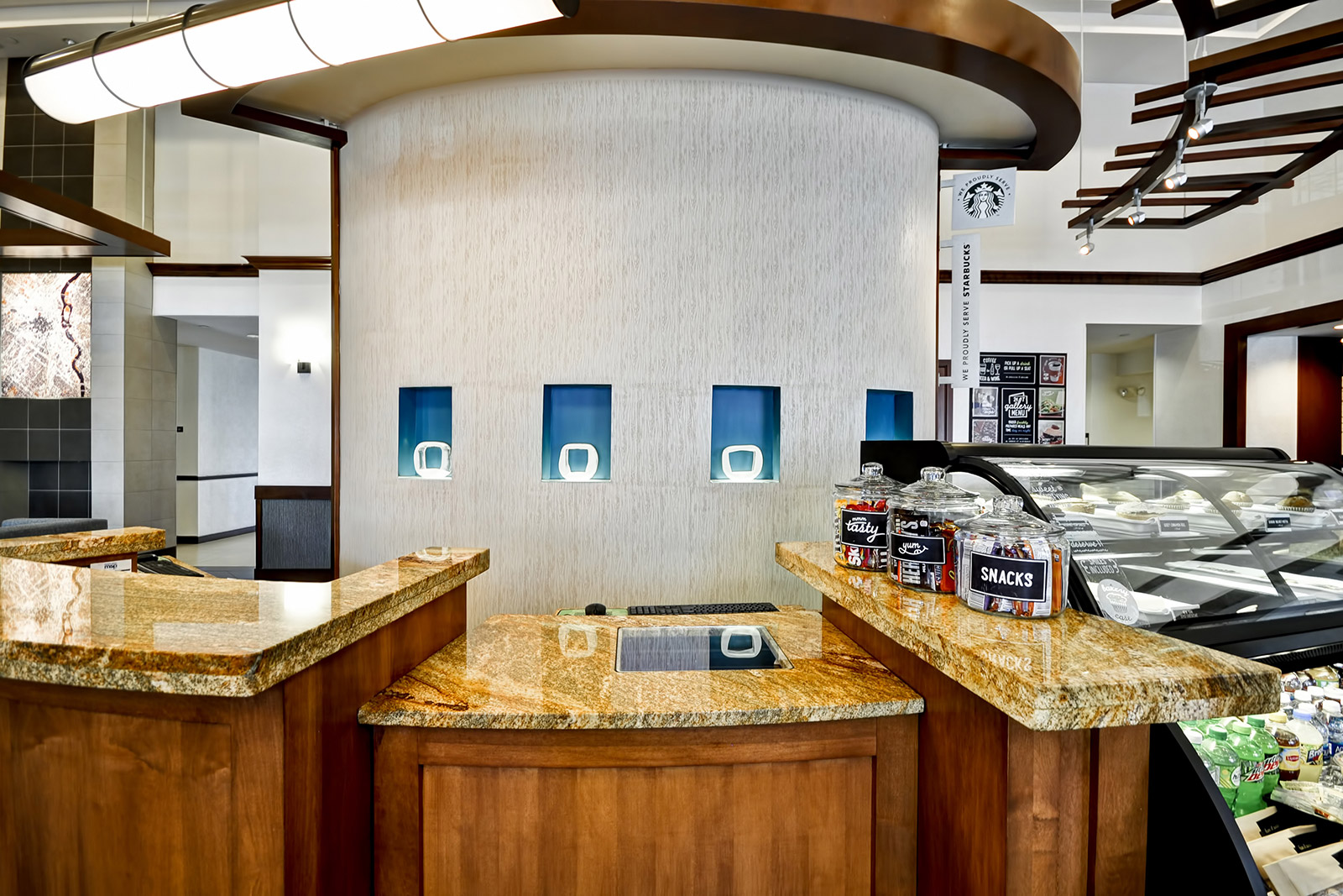 Hyatt Place front desk