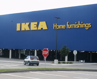 Shopping malls stores in bloomington mn near for Ikea st paul mn