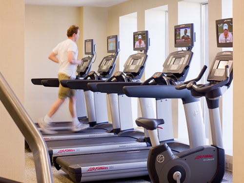 Minneapolis Airport Marriott Fitness Center