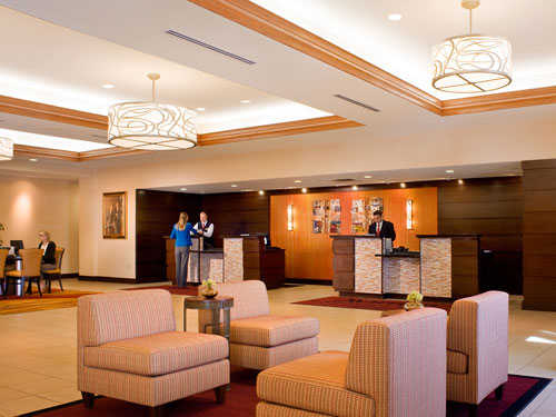 Minneapolis Airport Marriott Lobby