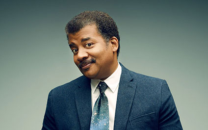 Neil deGrasse Tyson at the Orpheum Theater in Mineeapolis, MN