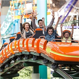 4 nickelodeon universe all-day wristbands