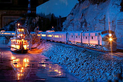 Night Trains at Twin City Railroad Museum