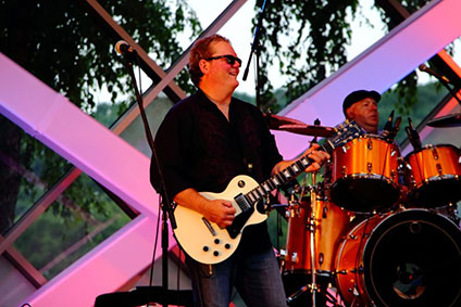 Paul Holland Band at the Thursday Blockbuster: Blues/Rock Bash in Bloomington, MN