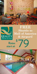 Quality Inn & Suites Airport near Mall of America