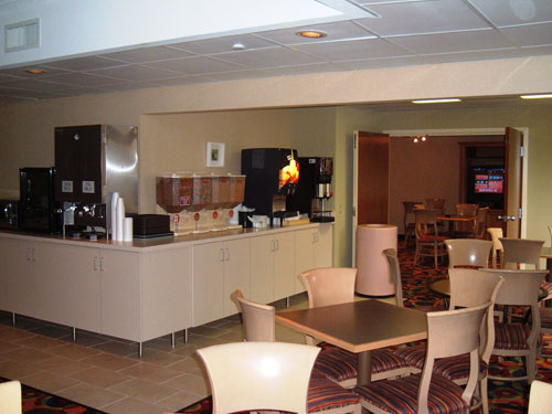 Quality Inn & Suites Breakfast Area