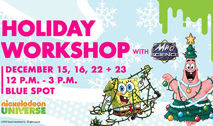 Mad Science Holiday Workshop at Mall of America
