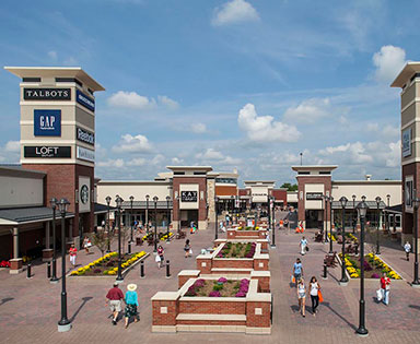 Twin Cities Premium Outlets in Eagan, MN