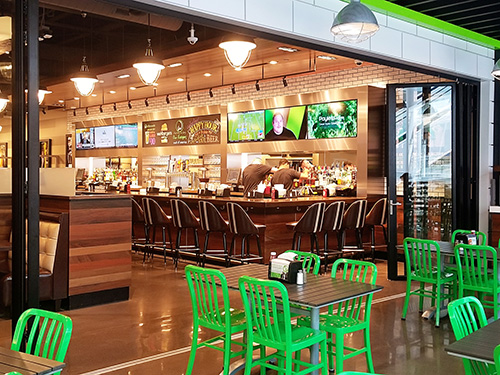 Wahlburger's Mall of America